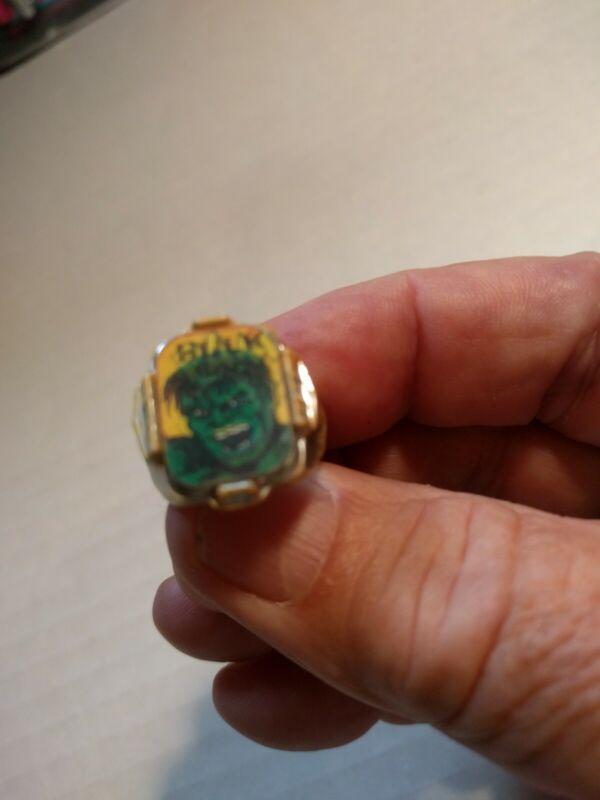 1966 Marvel Incredible Hulk Flicker Ring Varivue