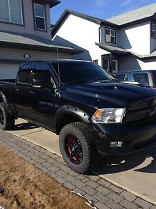 2012 Dodge Ram Sport. (Blacked out)