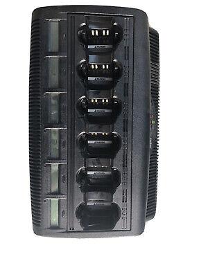 Motorola Impres Wpln4127ar 6 Unit Adaptive Charger Base Charging Ver 3.9