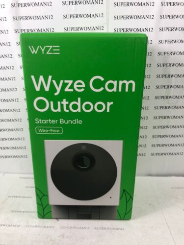 BRAND NEW* WYZE OUTDOOR CAM 32 GB Card KIT SMART SECURITY WIRELESS HD Camera