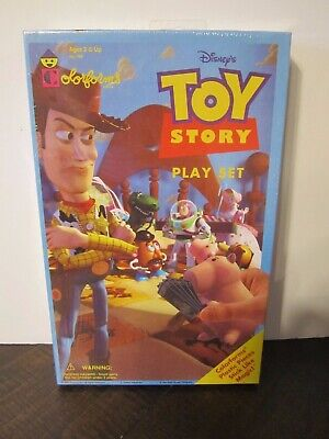 1995 Toy Story Colorforms Disney New and Sealed Play set