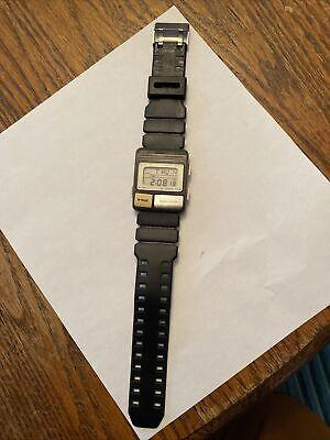 Working Vtg Seiko Pulse meter S229-5001 alarm/ chronograph New Battery