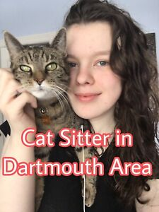 Cat sitter in Dartmouth! Available all March break!