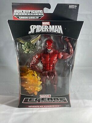 Marvel Legends Infinite Series CARNAGE Spawn of Symbiotes 6in Green Goblin BAF