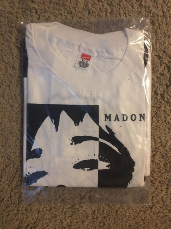 Rare New W/tags 1990 Madonna T-Shirt vintage Size XL See Photos