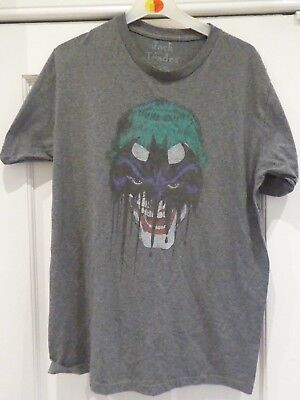 Jack of All Trades Batman Joker DC Comics Grey Large T-Shirt