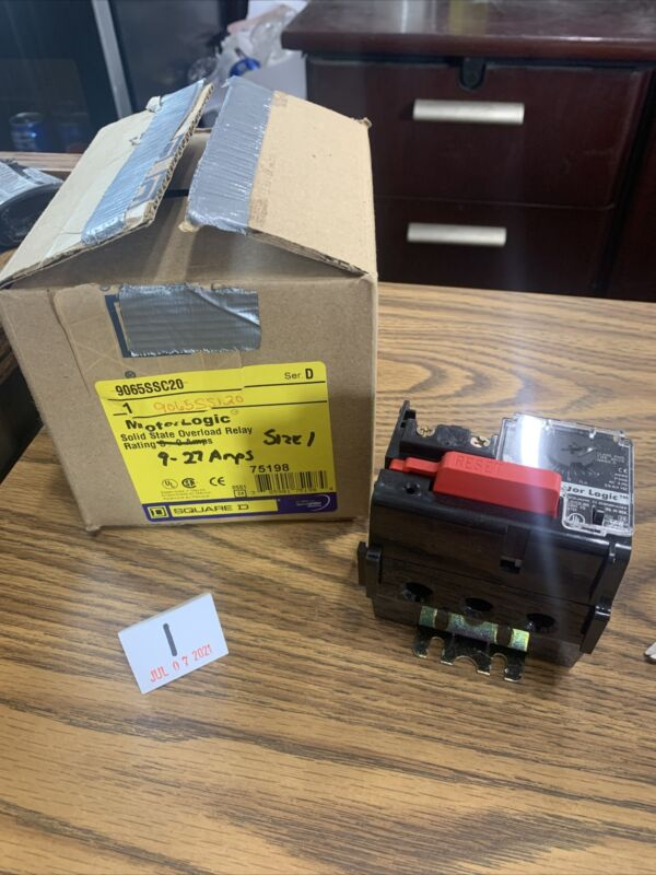 Square D 9065-SS120 Solid State Overload Relay