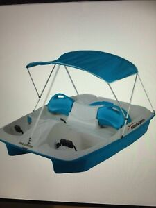 5 person Electric Pedal Boat w/ Canopy