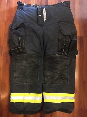 Firefighter Janesville Lion Apparel Turnout Bunker Pants 38x30 08 Black Costume