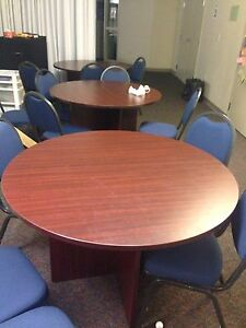 Three round tables for sale