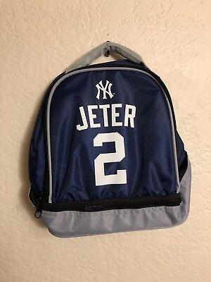 Derek Jeter #2 New York Yankees Insulated Cooler Lunch Bag. Future Hall Of Famer