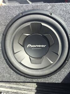 "Pioneer 12"" subwoofer (brand new)"