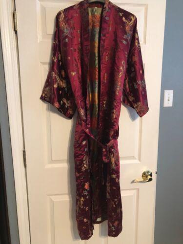 Lian Lin Kimono Robe with Belt Strap, Men