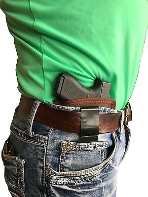 Concealed IWB Brown Leather Gun holster for Ruger LC9 & LC9S