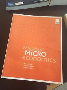 Principles of micro economics 3rd edition Eight Mile Plains Brisbane South West Preview