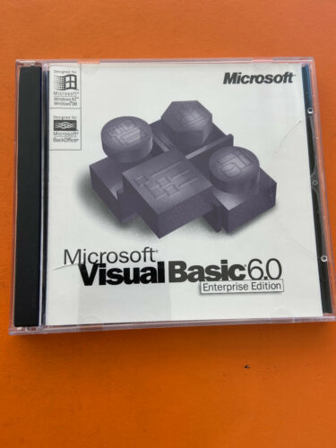 Microsoft Visual Basic 6.0 Enterprise Edition With MSDN Library