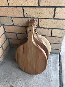 Serving boards wooden chopping x 6 Hamilton Newcastle Area Preview