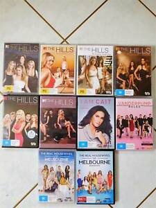 Assorted Reality Show DVDS