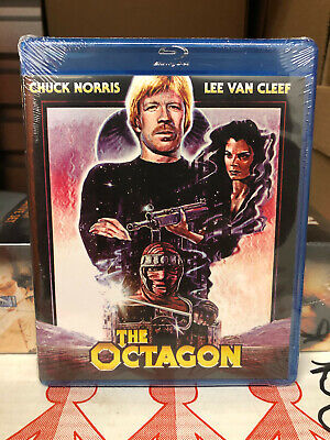 The Octagon (Blu-ray Disc, 2013) NEW OOP chuck norris