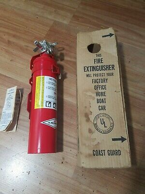 Amerex Fire Extinguisher 1a10bc Dry Chemical 2-12 Lb.
