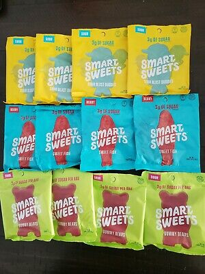 Smart Sweets Low Carb Candy (12 Pack) - Healthy Snack Variety + FREE SHIPPING