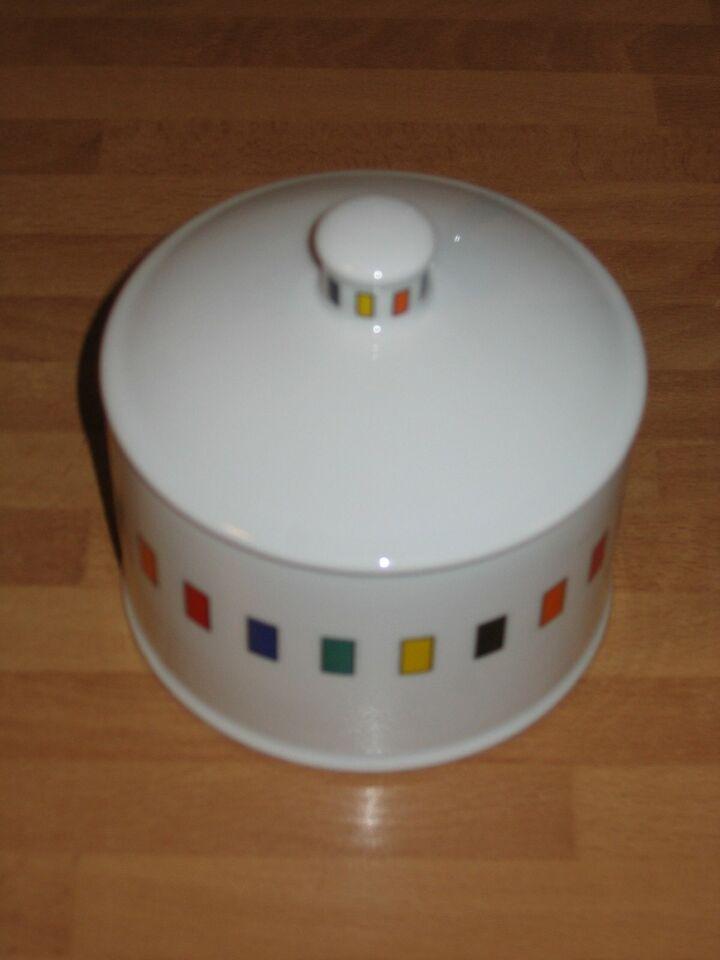 Zuckerdose mit farbigen Rechtecken Porzellan Meusch Design in Dresden - Räcknitz/Zschertnitz
