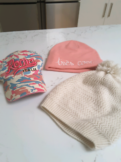 Bundle of hats and beanies