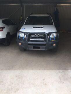 Toyota hilux winch bullbar