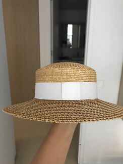 Ladies Boater Hat