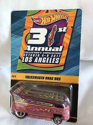 2017 Hot Wheels 31st Convention LA #1 VW Drag Bus