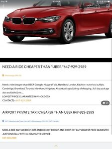 AIRPORT PRIVATE TAXI CHEAPER THAN UBER 24/7