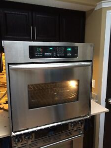 """KitchenAid Stainless 30"""" wall oven"""