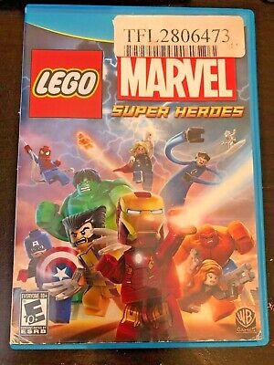 LEGO Marvel Super Heroes Nintendo Wii U 2013