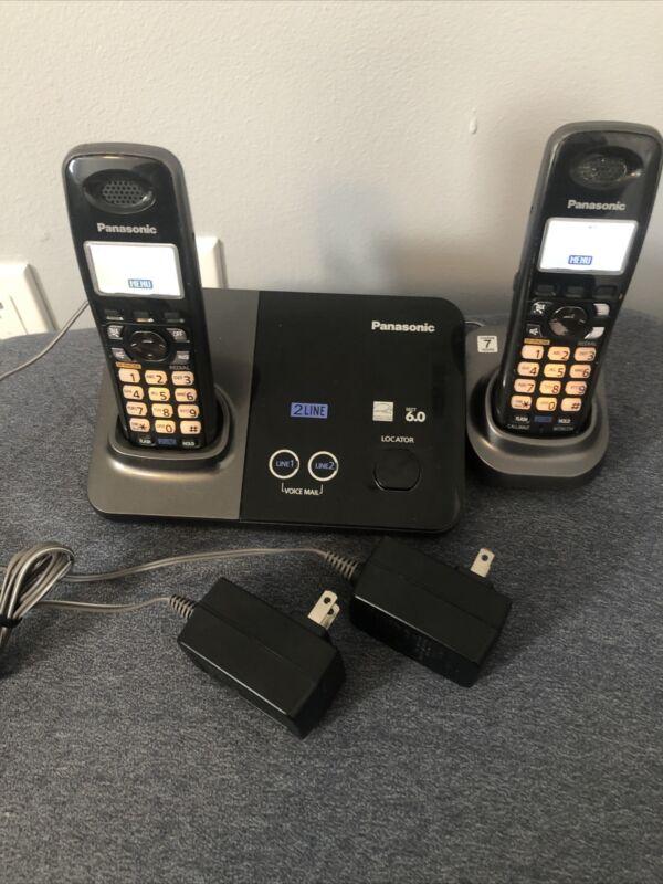 PANASONIC KX-TG9321T  2-LINE Base  KX-TGA939T Cordless Phone