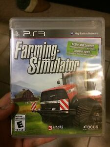 Farming Simulator and other PS3 Games LIKE NEW!!