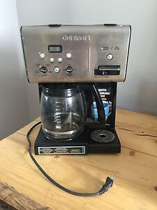Cuisinart coffee maker with water on demand