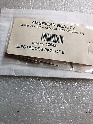 American Beauty 10542 Tweezers Electrodes Resistance Soldering 564 X 1-12