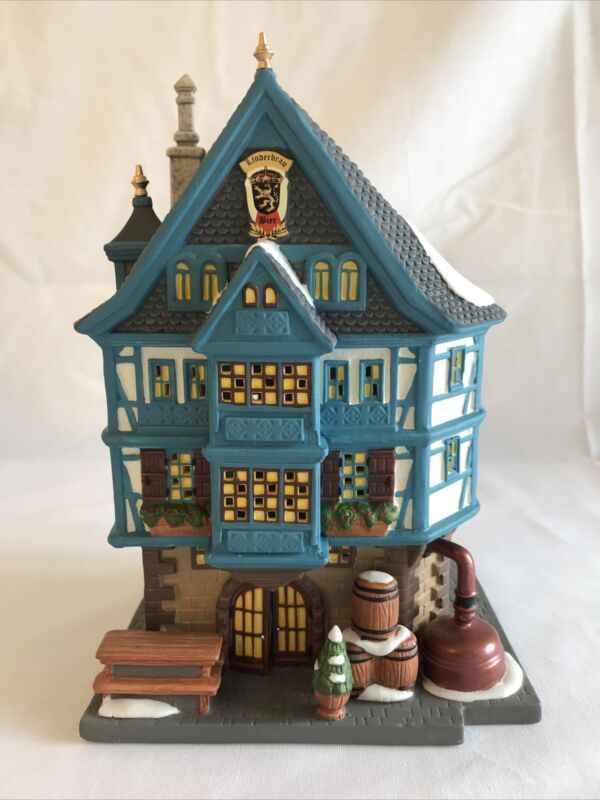 Department 56 Alpine Village Series. Linderbraw beer hall
