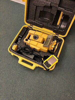 Topcon Gts-802a Robotics Total Station Wtds Data Collector