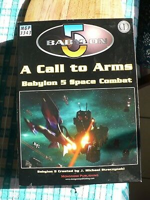 Babylon 5 Role Play Game, A Call to Arms, MPG 3343