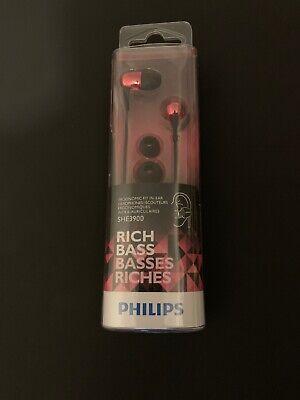 Philips -SHE3900 In-Ear Headphones - Rich Bass