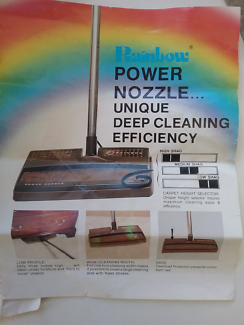 Rainbow vacuum accesories and attachments