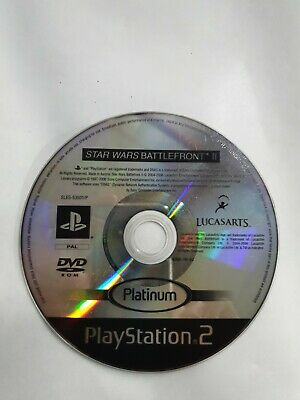 Star Wars Battlefront II 2 (Sony PlayStation 2, PS2) **disc only**
