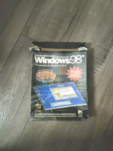 Vintage Aprendiendo Windows 98 Partiendo de Windows 95