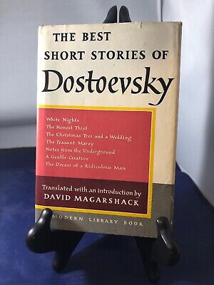Best Short Stories of Dostoevsky Modern Library hardcover David Magarshack 7