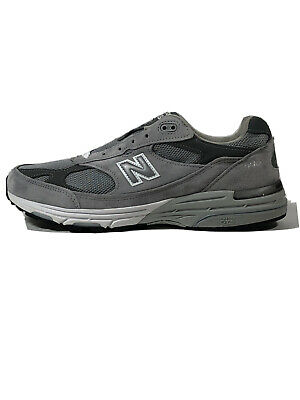 NIB New Balance Classic 993 Running Shoes Grey White MR993GL Men's Size 11 D