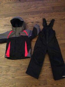 Boys Columbia Winter Coat and Snowpants Size 4/5 Cambridge Kitchener Area image 1