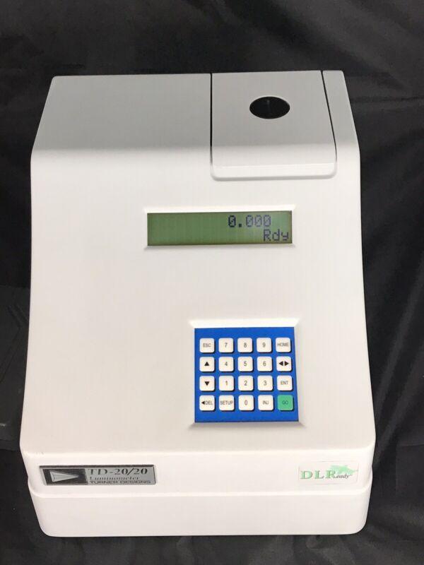 Turner Designs Luminometer Model TD-20/20 with Power Adapter