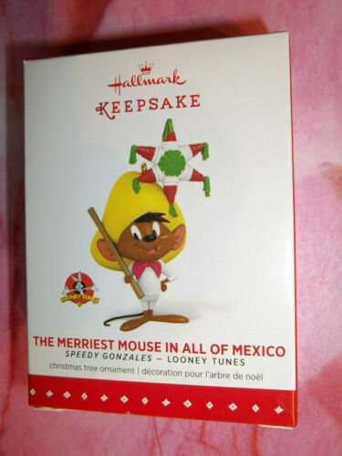 Yr 2015 Hallmark,SPEEDY GONZALES,MERRIEST MOUSE IN ALL OF MEXICO,LOONEY TUNES