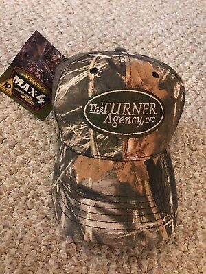 203b8ea1d15 Max-4 HD Camo Duck Hunting Hat Embroidered Logo Adjustable Cap
